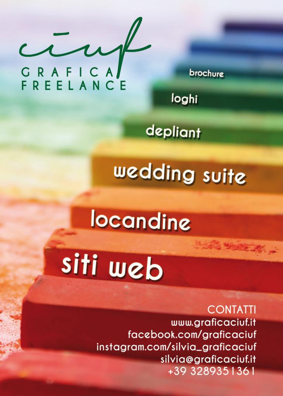 Siti web volantini locandine brochure loghi? CIUF, grafica freelance a Verona
