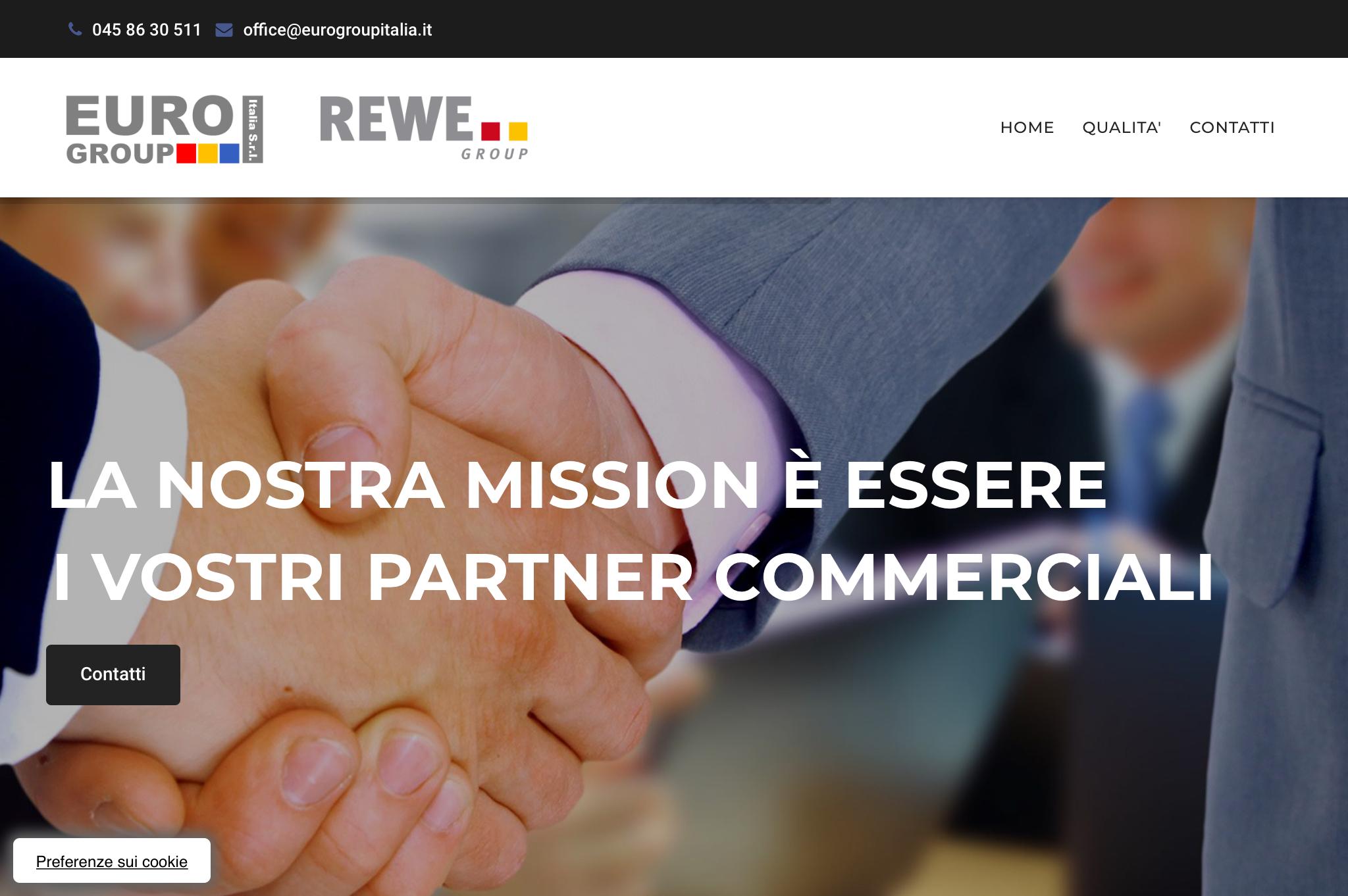 Restyling sito di Eurogroup Italia