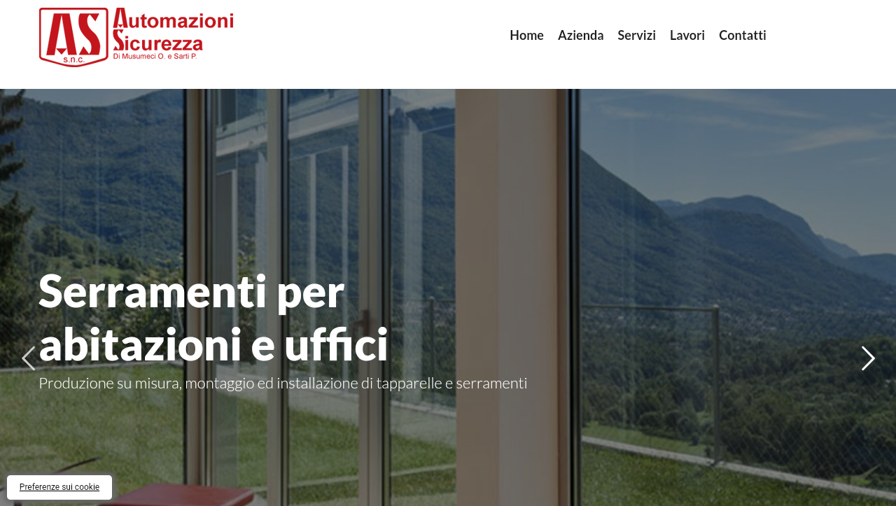 Restyling di AS Automazioni Sicurezza