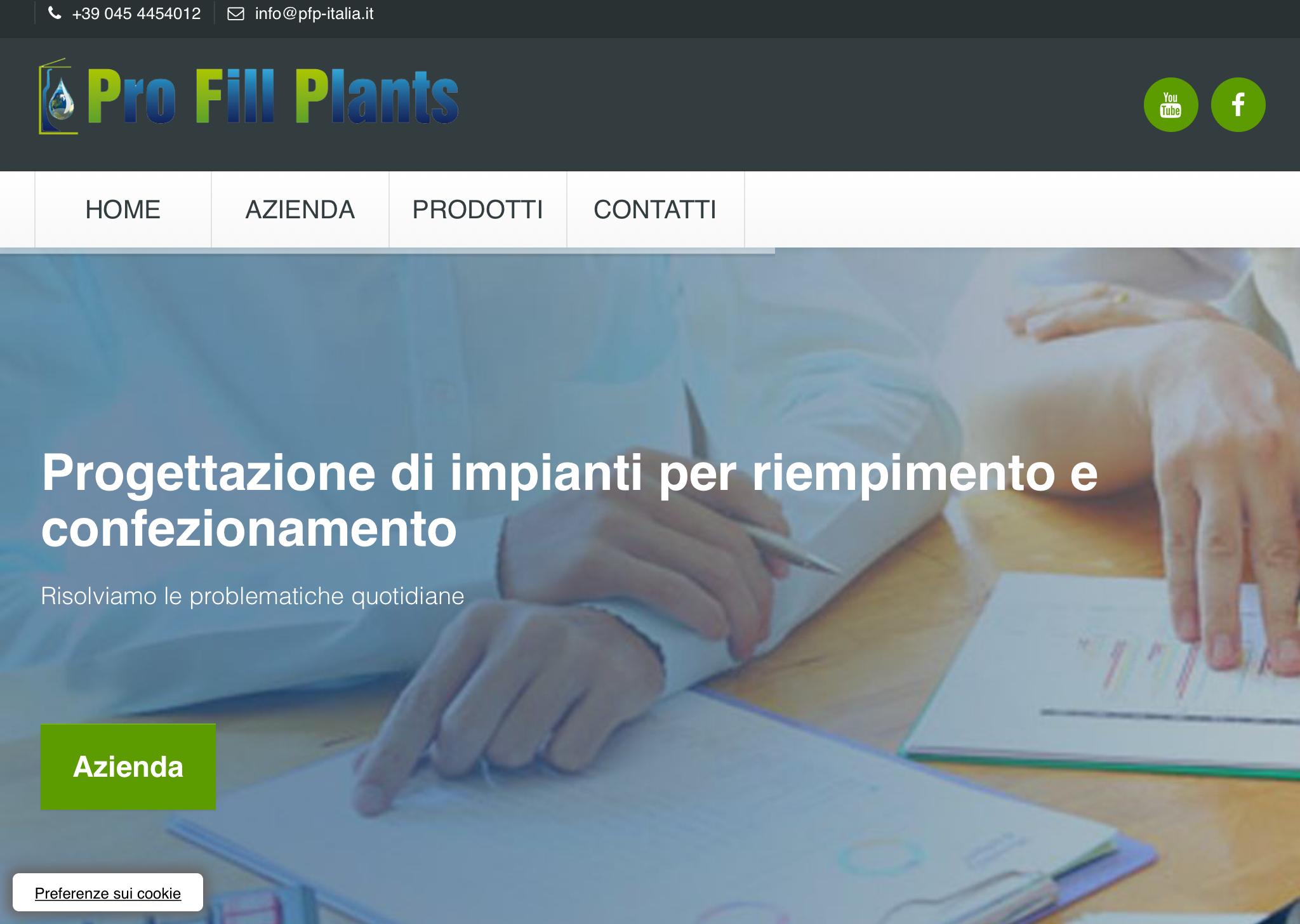 Grafica per il sito di Pfp-Italia