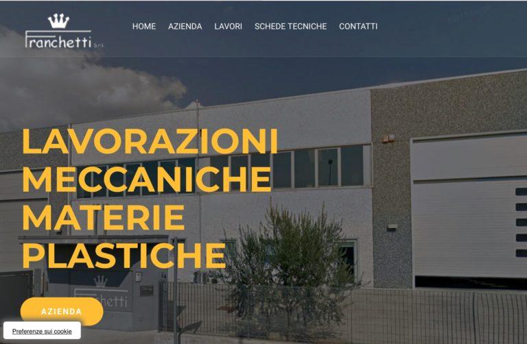 Restyling del sito di Franchetti Srl