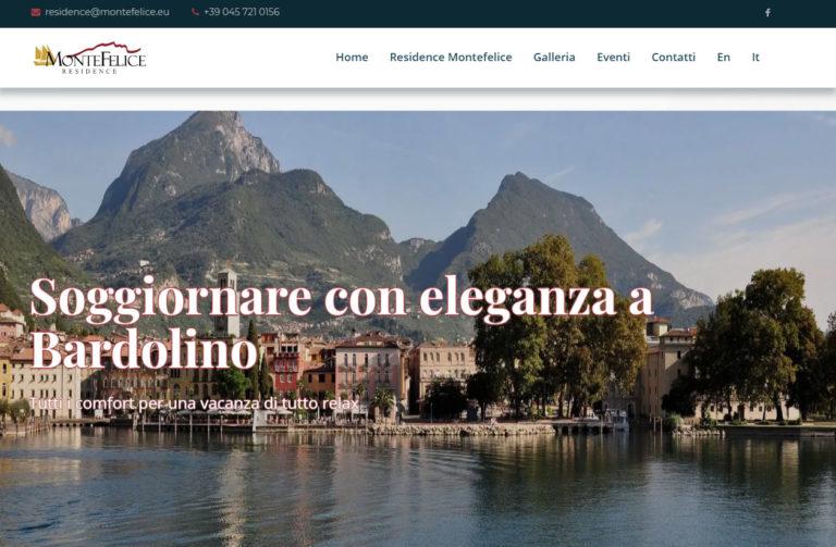 Residence Montefelice, nuova grafica per il sito web